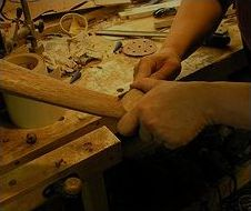 guitar production - work with wood